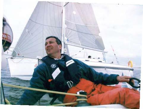 Portrait : Patrick Chedmail, le vent en poupe!