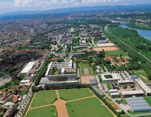 Le campus de l'INSA de Lyon