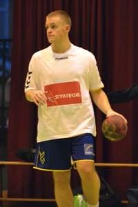 En tant que joueur, avec l'USO Nevers Handball (2011)