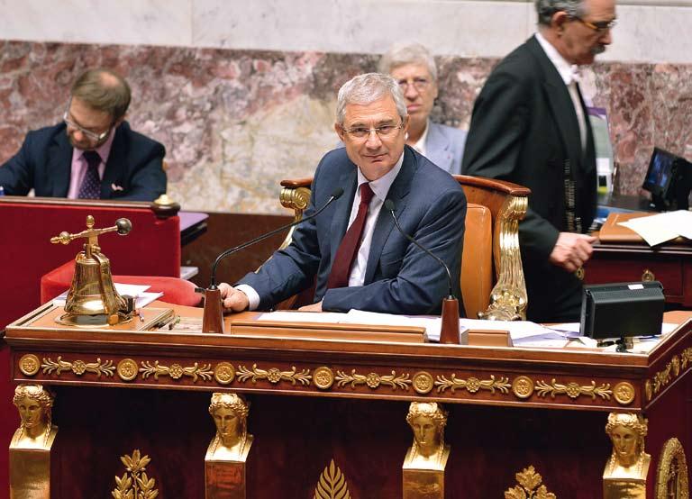 Claude Bartolone, 4e personnage de l'État