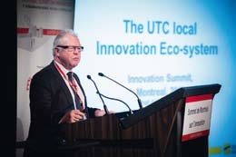 Alain Storck, président de l'UTC