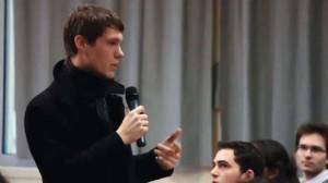 Première conférence, première prise de parole devant 250 personnes