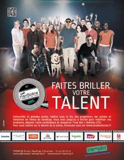 Tous HanScène®, un Challenge vidéo étudiants en faveur du handicap porteur de sens et de valeurs