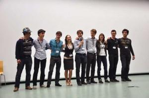 Le bureau de la nouvelle équipe du BNEI à son élection lors du 14ème congrès organisé à Paris les 7, 8 et 9 décembre 2012