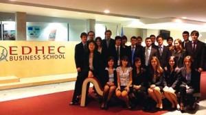 L'équipe de l'EDHEC Jobs Management : du professionnalisme, une bonne dynamique, et une sacrée cohésion !