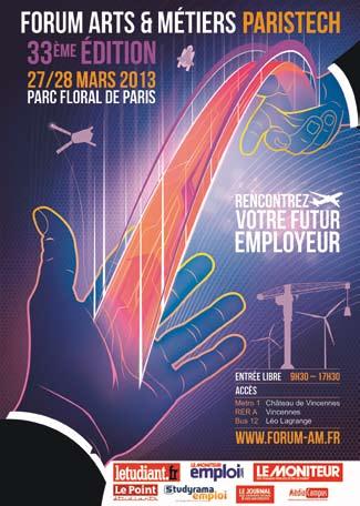 Recruter l'excellence et la polyvalence au forum Arts et Métiers ParisTech
