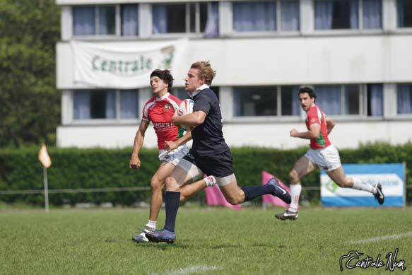 Le « Petit » Centrale 7, un espace de rencontre entre rugbymen et entreprises