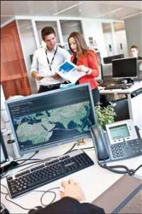 Collaborateurs des équipes Portfolio Management de la Branche Global Gaz & GNL de GDF SUEZ