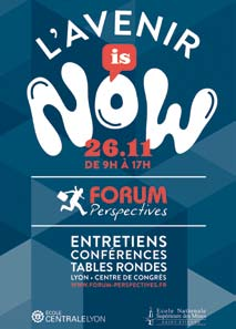 Le Forum Perspectives, la journée incontournable parce que «L'Avenir Is Now» !