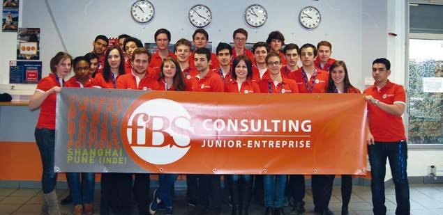 Les Junior-Entreprises de France Business School se sont rapprochées pour devenir FBS Consulting