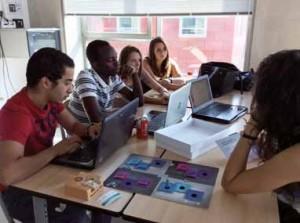Des étudiants de l'ICN travaillent sur des projets Artem durant les Creative Business Days © ICN