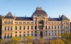 La façade du Palais de l'université Jean Moulin Lyon 3 © David Venier - Université Jean Moulin Lyon 3