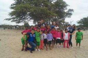 Clément, étudiant manager, en stage humanitaire au Pérou