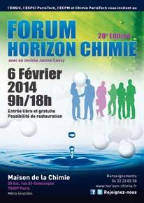 Découvrez vos perspectives d'avenir avec le Forum Horizon Chimie !