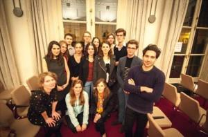 L'équipe du Prix Littéraire des Grandes Ecoles et les Jurés