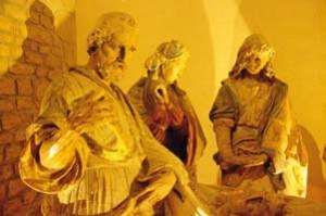 Un chef-d'oeuvre découvert durant la 1ère édition du plus grand musée de France. Mise au tombeau, atelier de Germain Pilon, 1533, Verteuil-sur-Charentes, église Saint-Médard