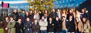 L'équipe Total EDHEC Entreprendre au complet