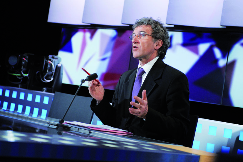 Gérard Leclerc, chef d'orchestre de LCP – Assemblée nationale