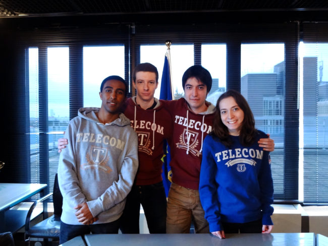 Des étudiants de Télécom SudParis envoyés aux portes de l'espace