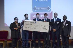 Les quatre lauréats du 1er Prix TBS de l'innovation pédagogique