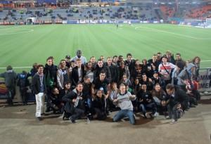 WE d'intégration des étudiants d'Amos au FC Lorient