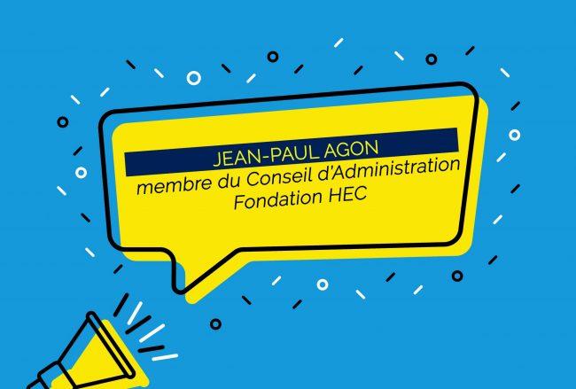 Jean-Paul Agon, nouveau membre du Conseil d'Administration de la Fondation HEC