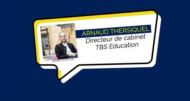TBS Education : Arnaud Thersiquel nommé Directeur de cabinet