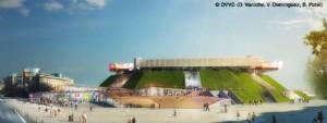 Un aperçu de ce que sera Paris Bercy dans deux ans, après les travaux