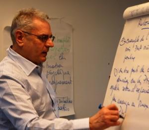 Paul-Hubert des Mesnards, animateur des journées de créativité
