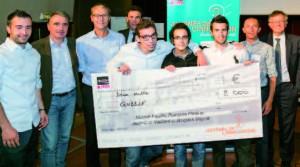 L'équipe Qubble est arrivée ex-aequo avec celle de Plume pour le prix coup de coeur du projet étudiant de la Journée de l'innovation de Télécom ParisTech. Le prix coup de coeur de la start-up a été remporté par Focusmatic,