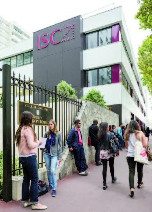ISC Paris : » Entreprendre pour apprendre et apprendre pour entreprendre «
