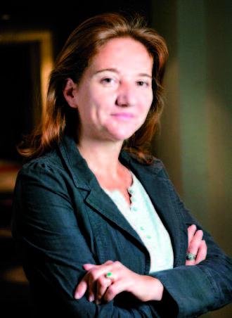 Caroline Gaye, une dame de cœur à la tête d'American Express