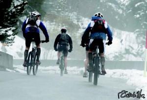 Passage du Col de Gurnigel, dans des conditions difficiles