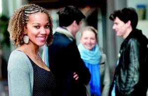 Groupe d'étudiants admissibles à Audencia en 2012