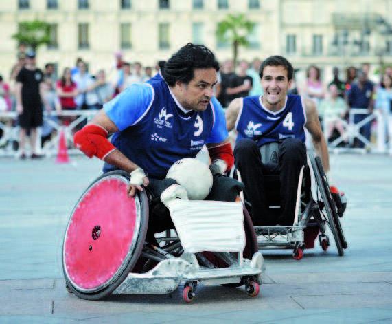 L'expansion du rugby fauteuil en France, vue par Ryadh Sallem