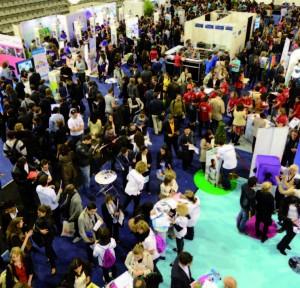 Le forum des métiers qui accueillent les stands des 6 entreprises partenaires a connu une fréquentation très dense pour cette édition.