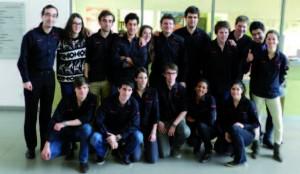 L'équipe Junior Conseil Phelma 2013-2014