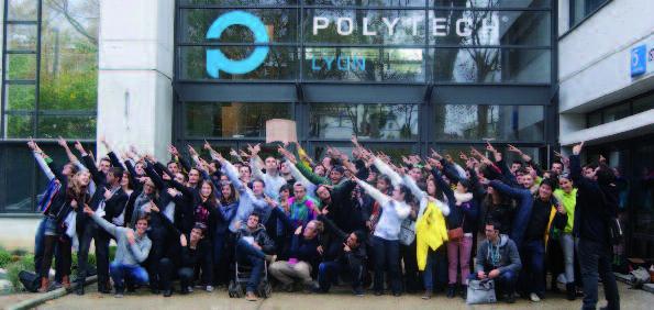 VIe congrès de la fédération des élèves du réseau Polytech