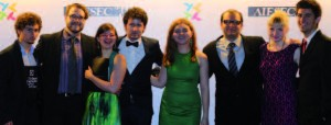 La délégation AIESEC France lors du congrès international à Taiwan cette année, la plus grande conférence d'AIESEC dans le monde. Plus de 120 pays étaient représentés sur une durée de 10 jours.