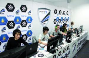 Les joueurs League of Legends en pleine action