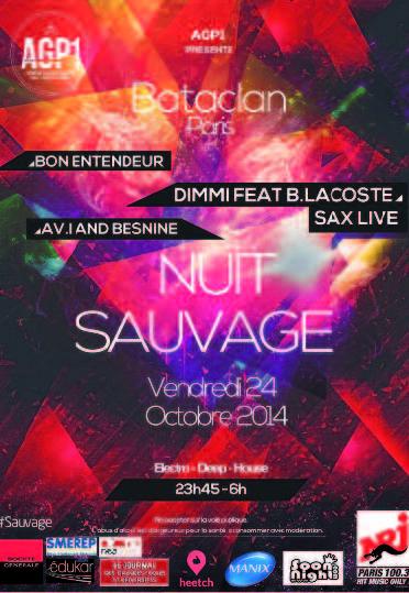 Vendredi 24 octobre, le Bataclan s'ouvre à vous pour une soirée aussi indomptable qu' insolite…