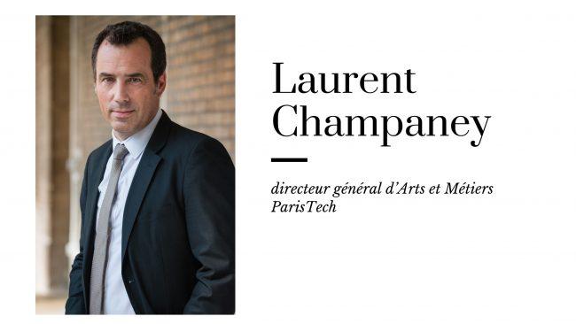 Ma vision avec le boss – L'interview de Laurent Champaney, directeur d'Arts et Métiers ParisTech