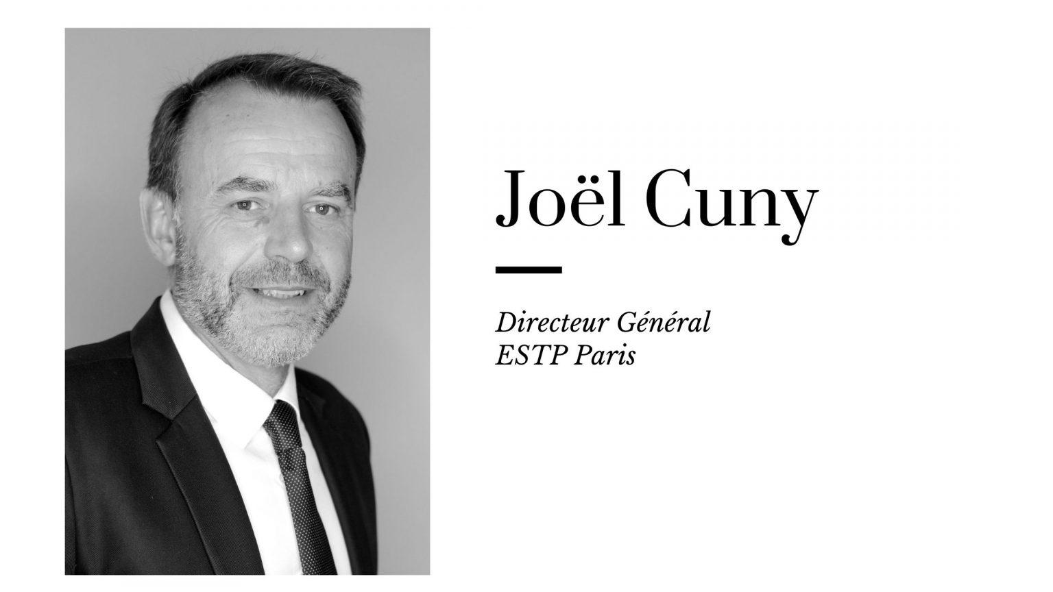 L'interview de Joël Cuny, nouveau directeur de l'ESTP Paris