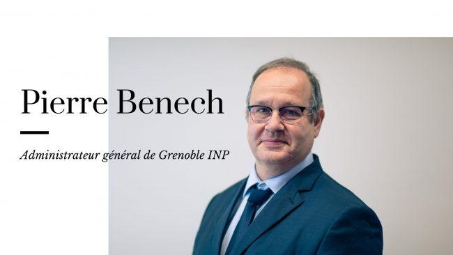 « Grenoble INP est et restera votre maison » - L'interview de Pierre Benech
