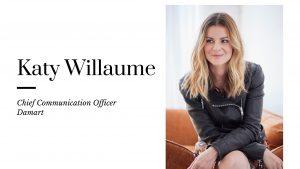 Le textile fait sa révolution. Dans son interview, Katy Willaume, Chief Communication Officer, remonte le fil de Damart, marque historique qui a su se donner un nouveau visage.