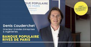Interview vidéo Denis Couderchet Banque Populaire Rives de Paris