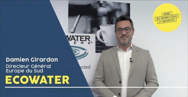 Interview vidéo Damien Girardon Ecowater