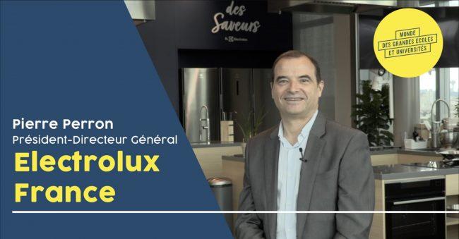 Interview vidéo Pierre Perron Electrolux
