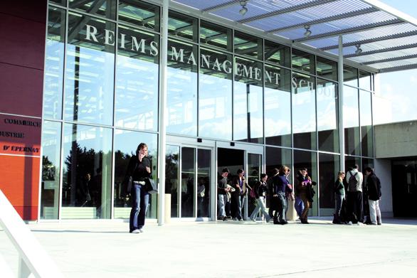 L'entreprise au cœur des stratégies de Reims Management School et de Rouen Business School