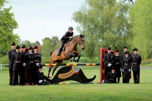 L'équipe du jumping 2012 en grand uniforme